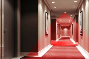 Gestion de l'éclairage dans l'hôtellerie - B.E.G. Hôtel Walkway III