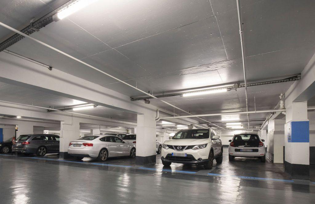 Dossier - Éclairage des parkings
