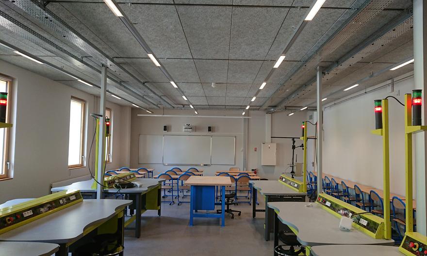 Dossier Éclairage des locaux d'enseignement © Ignacio Prego Architectures