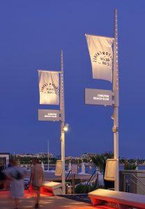 Cannes, La Croisette © Technilum. Photo Hugo Da Costa