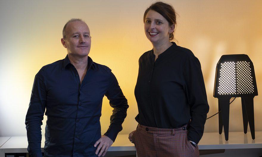 Isabelle ROLLAND et Christophe HASCOËT, agence Rich – © Denis Esnault
