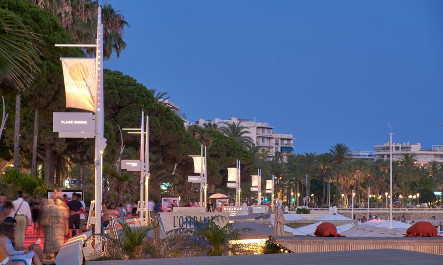 Cannes, La Croisette - © Technilum - Photo Hugo Da Costa