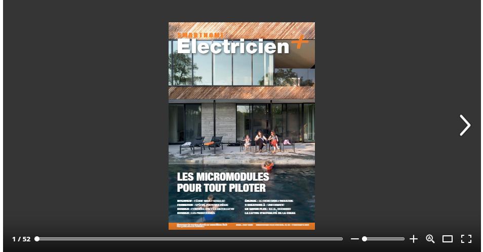 magazine Electricien+ 83