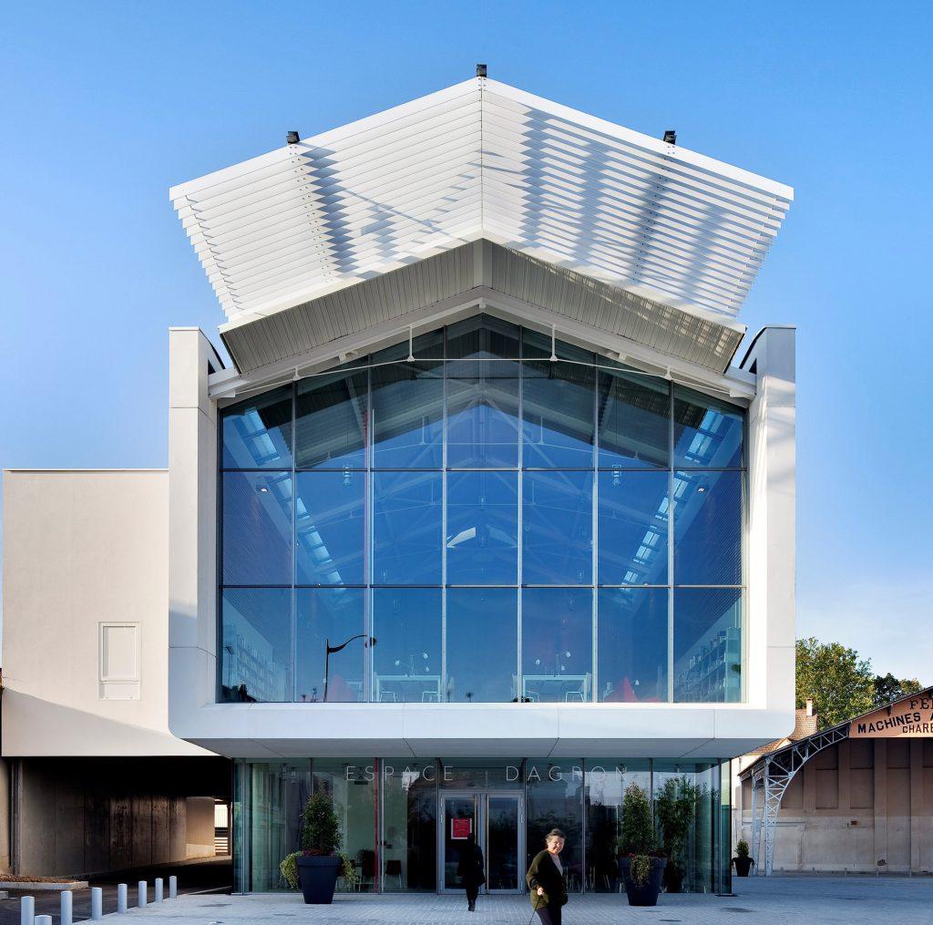 Centre culturel, Auneau - Architecture Patrick Mauger - © Michel Denancé