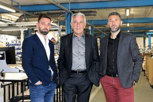 Stéphane Ragni, directeur général et directeur commercial – Marcel Ragni, président – Jean-Christophe Ragni, directeur général et directeur export