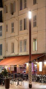 éclairage extérieur Cannes © Selux. Photo Xavier Boymond