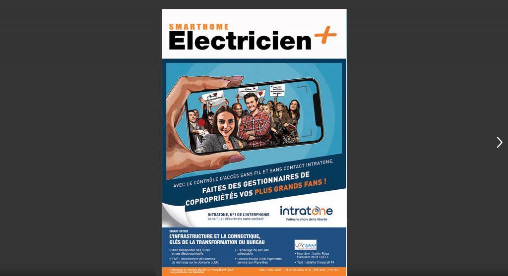 lecteur issuu smart home electricien plus