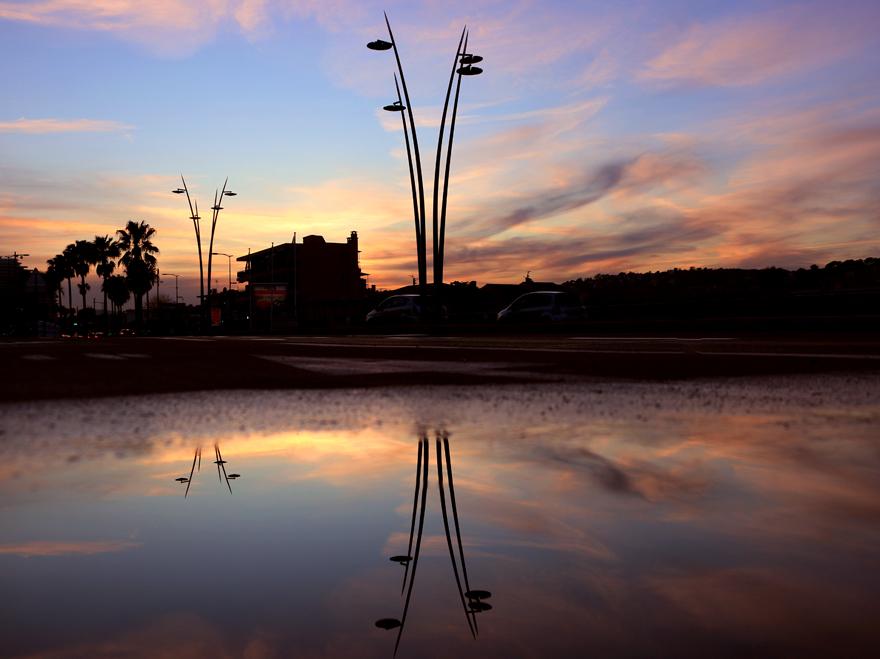 éclairage extérieur public Cagnes © Ragni