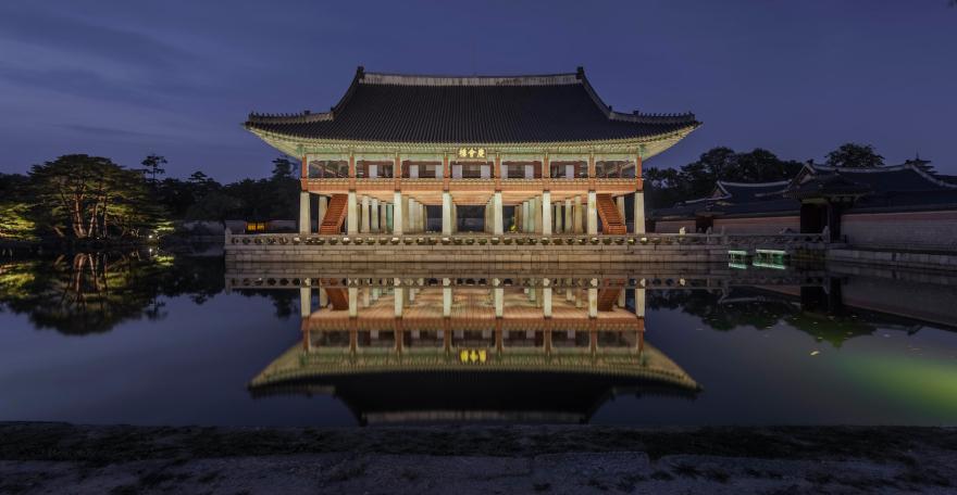 Palais de Gyeongbokgung© ERCO photo Jackie Chan