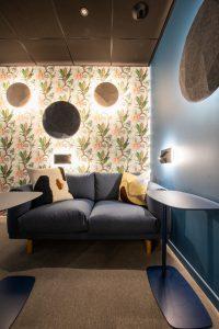 Showroom SLV, espace Déconnexion © SLV